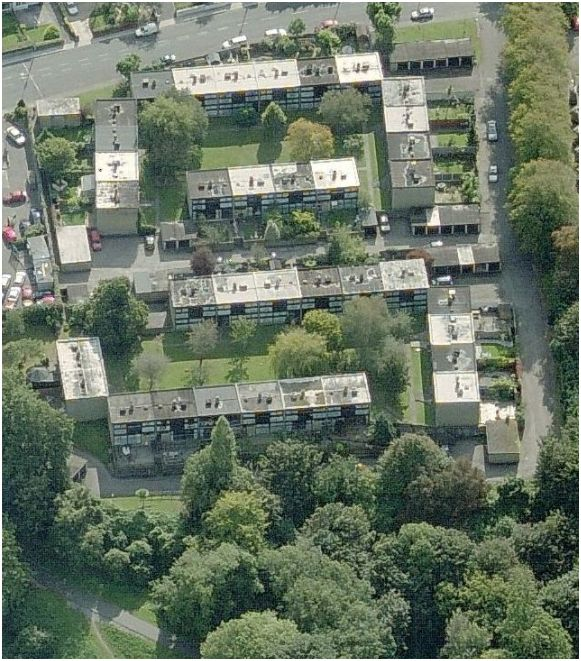 Ariel view of Dundanion Court